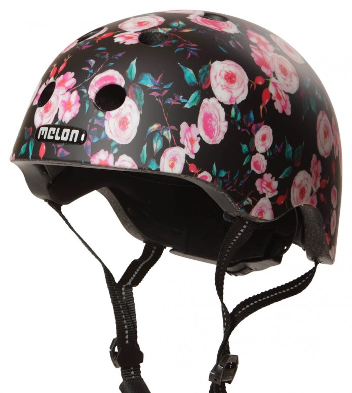 Melon Melon Helmet Rosen Garden black