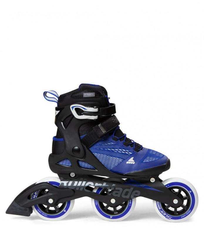 Rollerblade Rollerblade W Macroblade 3WD 100 black/blue cool