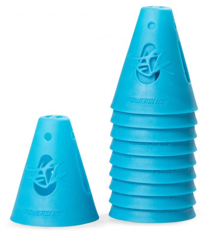 Powerslide Cones 10-Pack blue 80 x 65mm