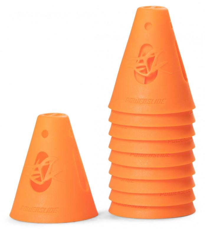 Powerslide Cones 10-Pack orange 80 x 65mm