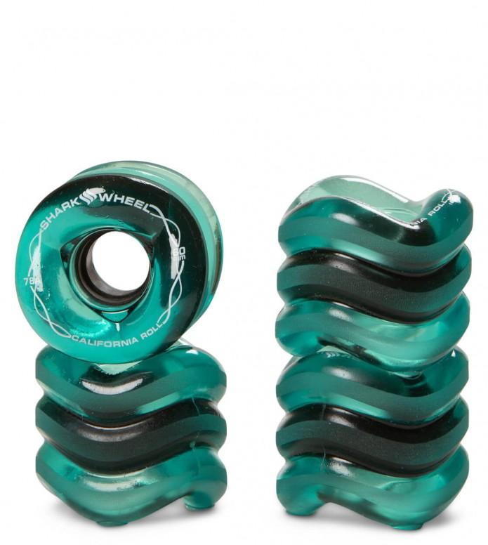 Shark Wheels California Roll 60er green transparent 60mm/78A