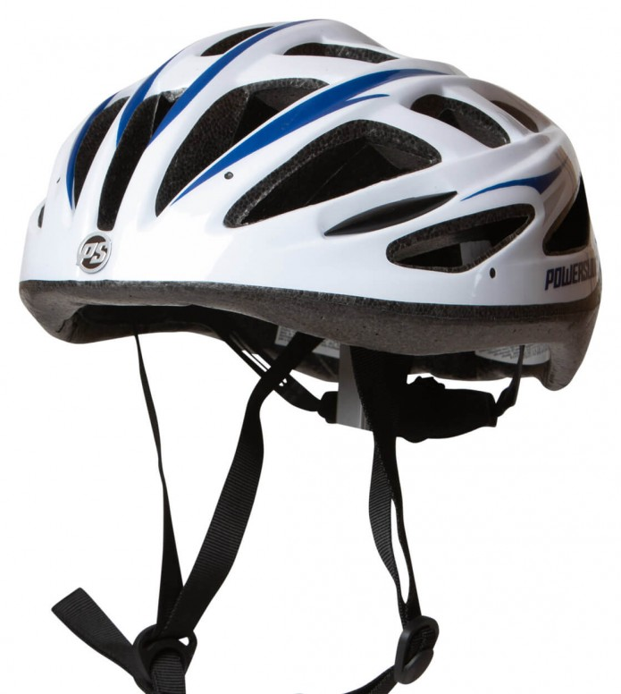 Powerslide Powerslide Helmet Fitness Basic white/blue