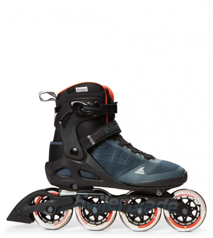 Rollerblade Rollerblade Macroblade 90 black/blue/orange spicy