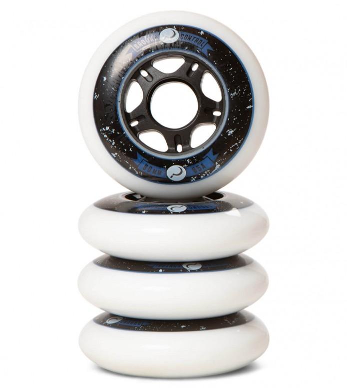 Ground Control Wheels 2G 80er white 80mm/85A