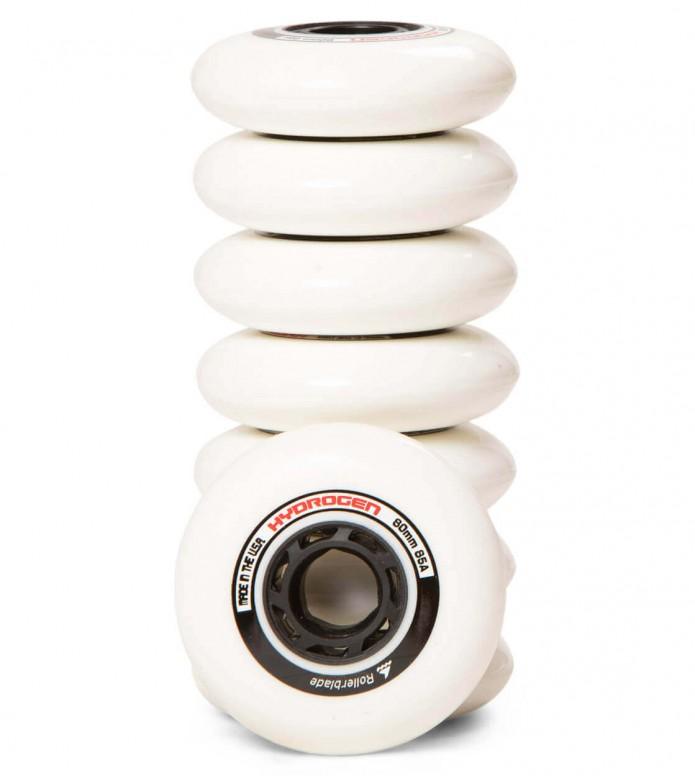 Rollerblade Wheels Hydrogen 80er white 80mm/85A