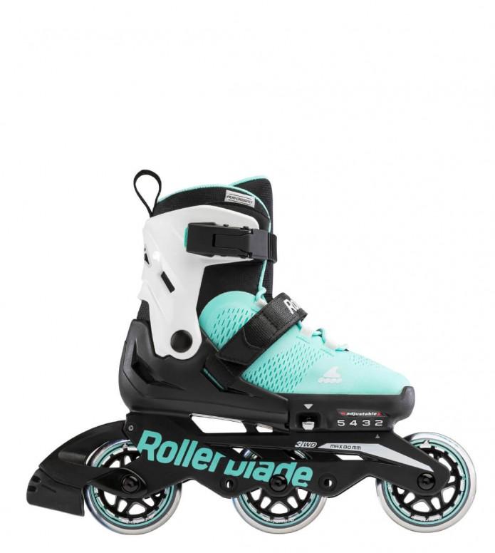 Rollerblade Rollerblade Kids Microblade 3WD black/blue aqua