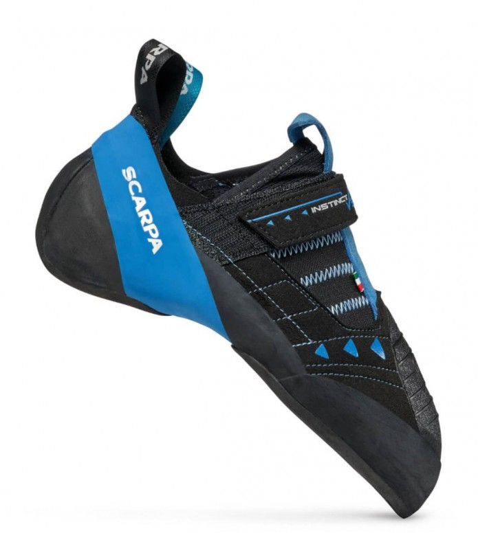 Scarpa Scarpa Climbing Shoes Instinct Vsr black/blue