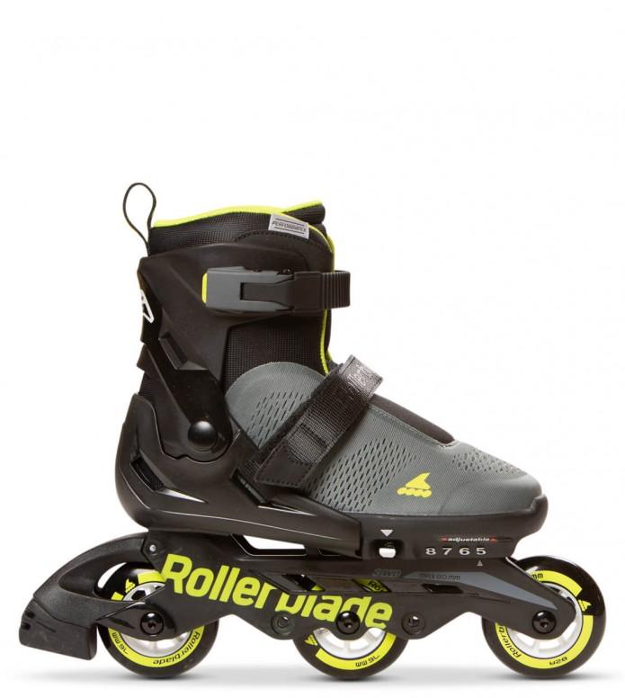 Rollerblade Rollerblade Kids Microblade Free 3WD black/grey/green