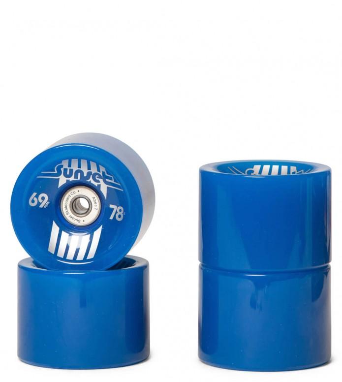 Sunset Wheels Glow blue 69mm/78A