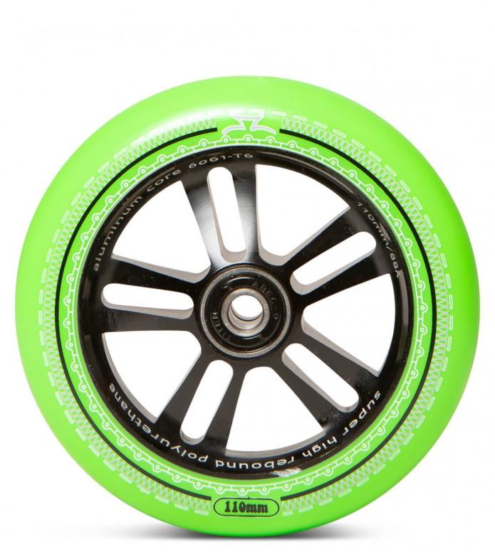 AO Wheel Mandala 110er green/black 110mm