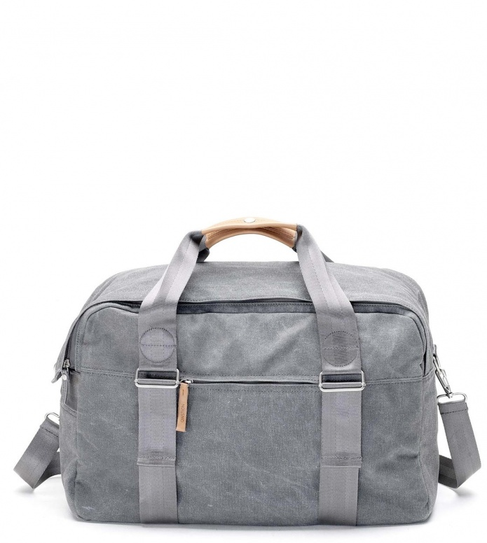 Qwstion Qwstion Bag Weekender washed grey