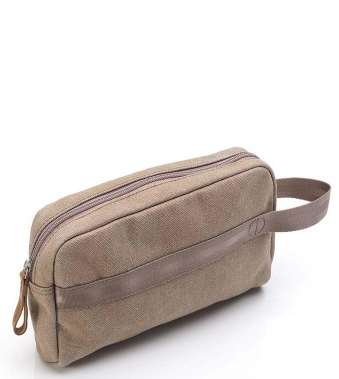 Qwstion Washbag Travel Kit beige dust