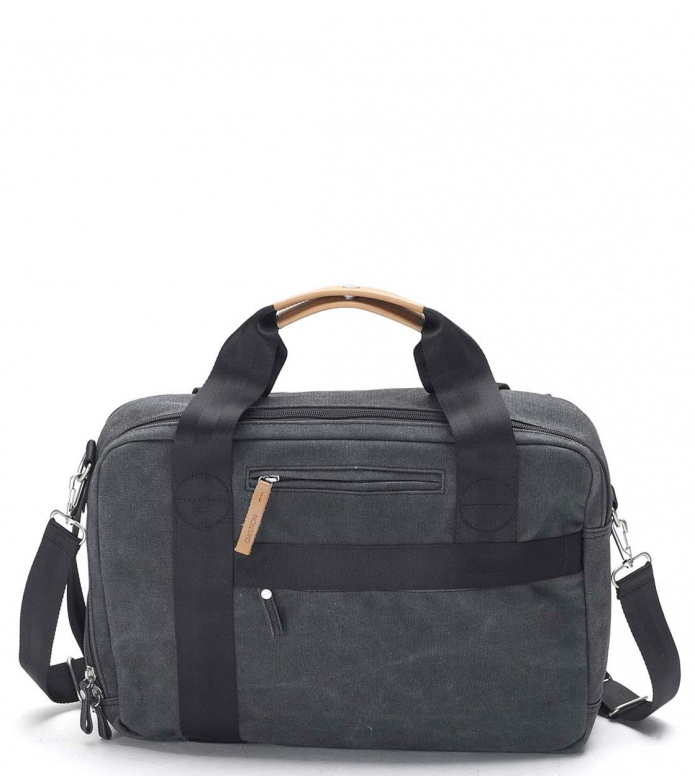 Qwstion Qwstion Bag Office washed black