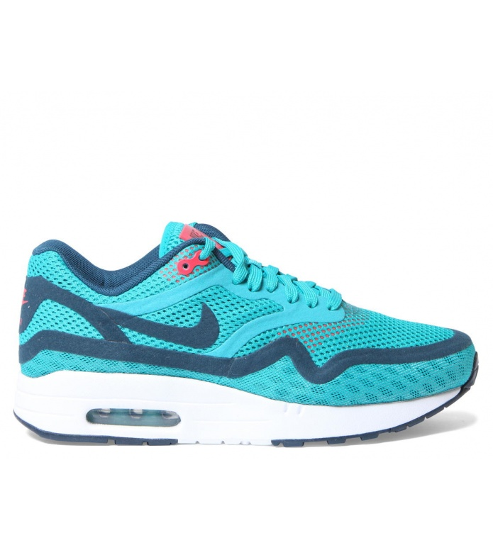Nike Nike W Shoes Air Max 1 BR green trb grn/nghtshd-lsr crmsn-whit