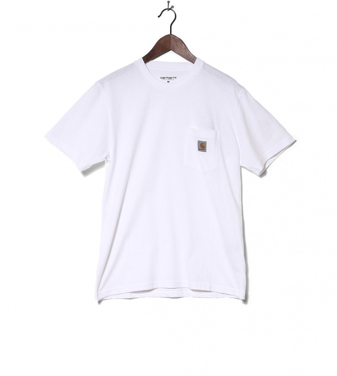 Carhartt WIP T-Shirt Pocket white S