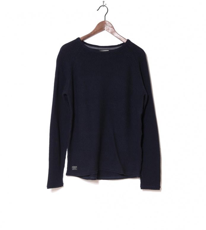Revolution Knit Pullover 6261 Pattern blue navy S