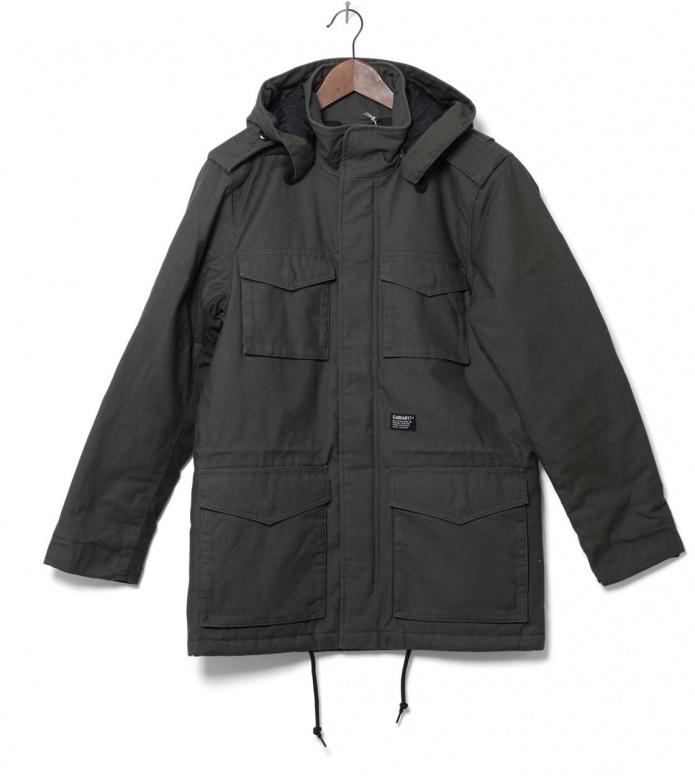 Carhartt WIP Winterjacket Hickman Coat green cypress S