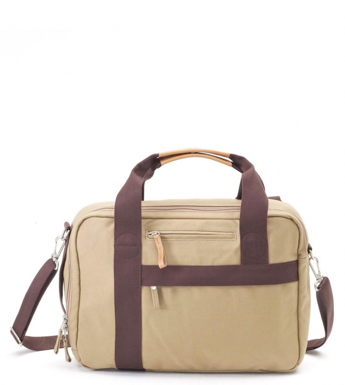 Qwstion Qwstion Bag Office organic camel