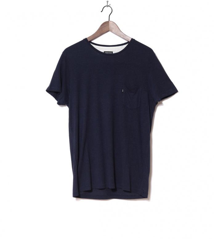 Freitag T-Shirt Male blue dark S