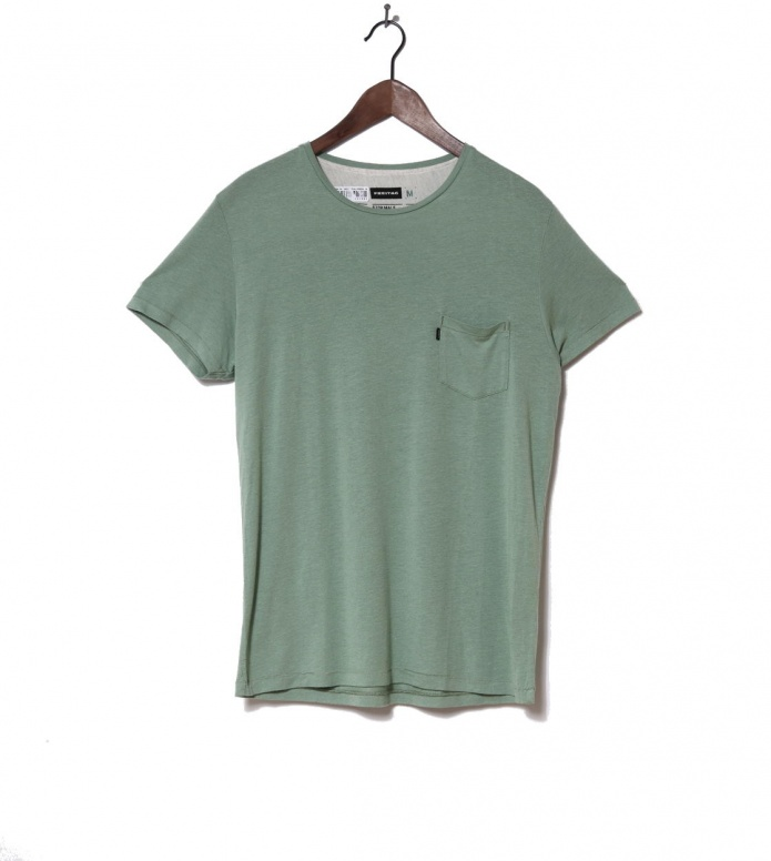 Freitag T-Shirt Male green industrial S