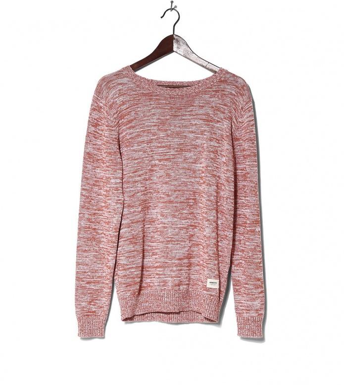 Wemoto Knit Pullover Lindsay orange glaze melange L