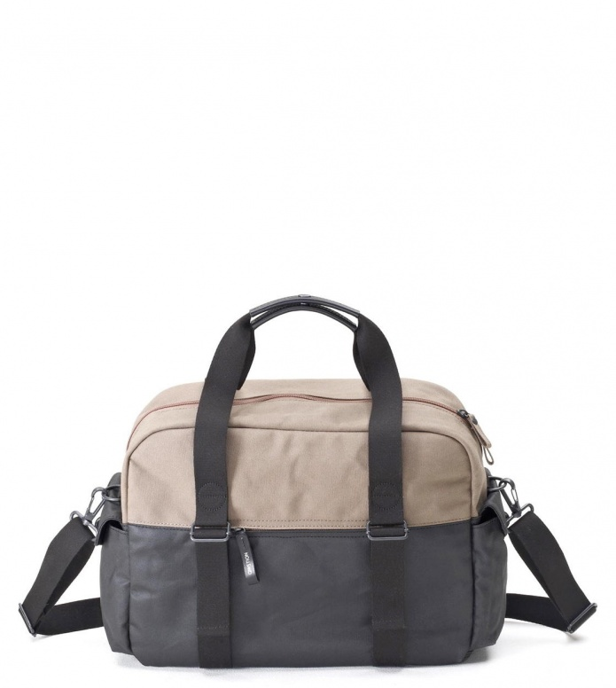 Qwstion Qwstion Bag Overnighter organic caribou duotone