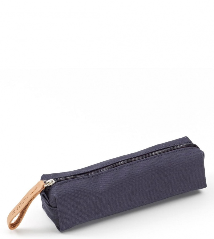 Qwstion Qwstion Pencil Case organic navy