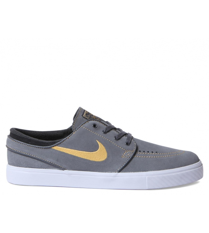 Nike SB Nike SB Shoes Janoski grey anthracite/mtllc gold-blk-brght or