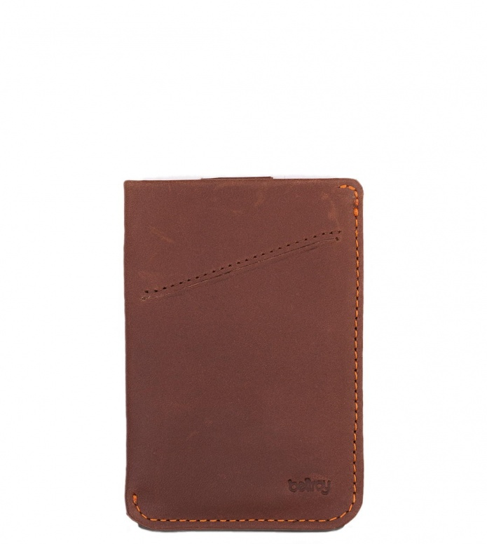 Bellroy Bellroy Wallet Card Sleeve brown cocoa