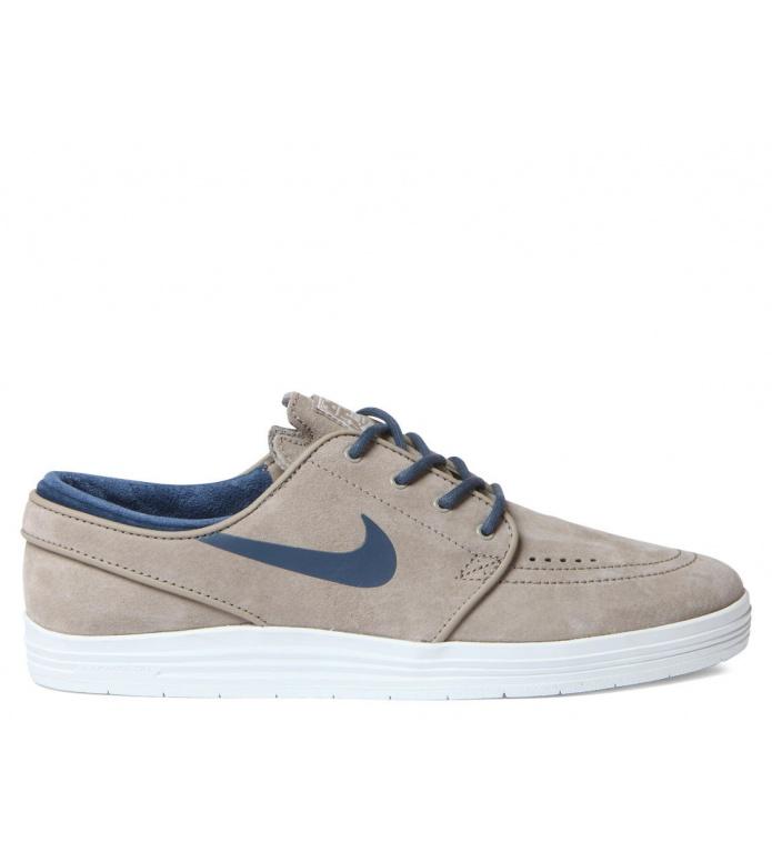 Nike SB Nike SB Shoes Lunar Janoski beige bamboo/squadron blue-smmt wht