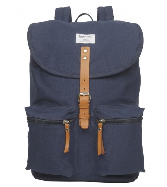 Sandqvist Sandqvist Backpack Roald blue