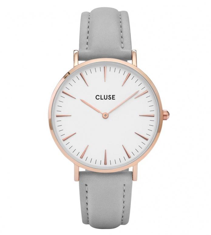 Cluse Cluse Watch La Boheme grey/white rose gold