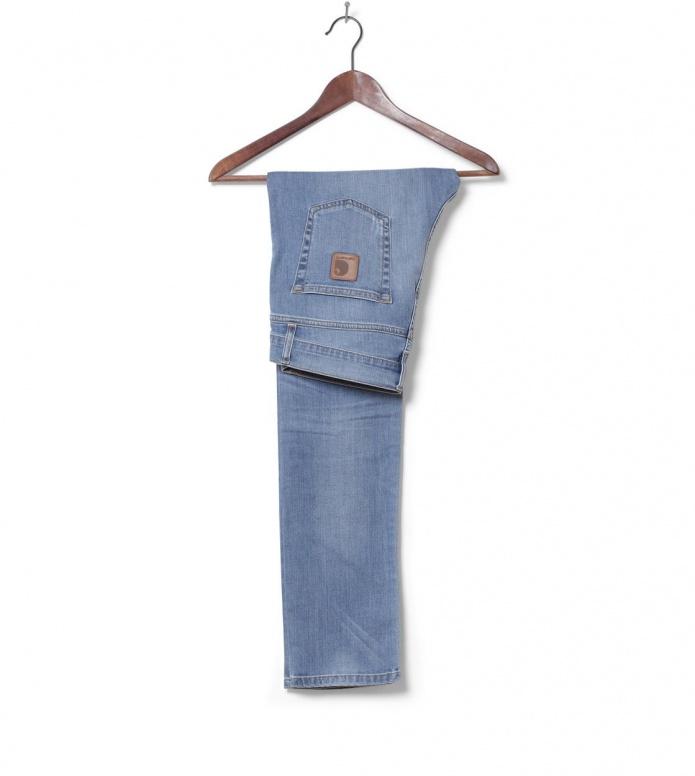 Carhartt WIP Carhartt WIP Pant Rebel Colfax blue brust washed