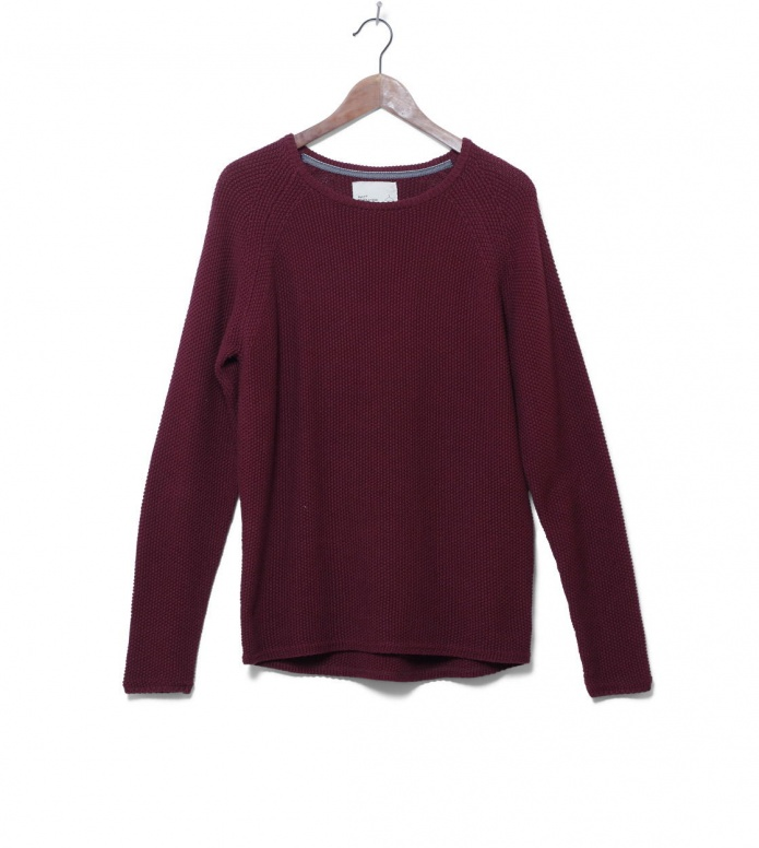 Revolution Knit Pullover 6261 Pattern red bordeaux S