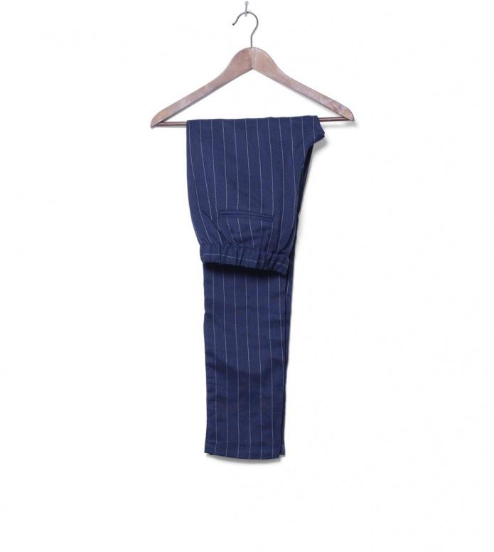 MbyM W Pants Ibi blue pinstripe XS