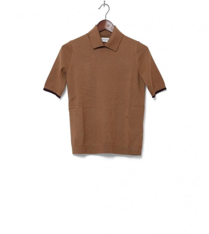 Wood Wood W T-Shirt Darlene brown tannin