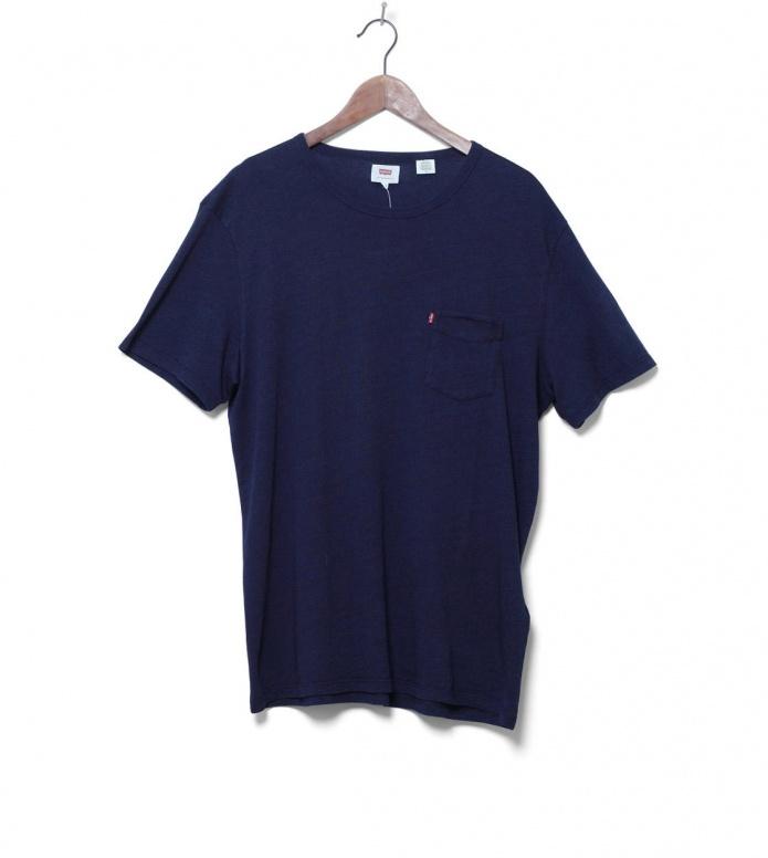 Levis Levis T-Shirt Sunset Pocket blue saturated
