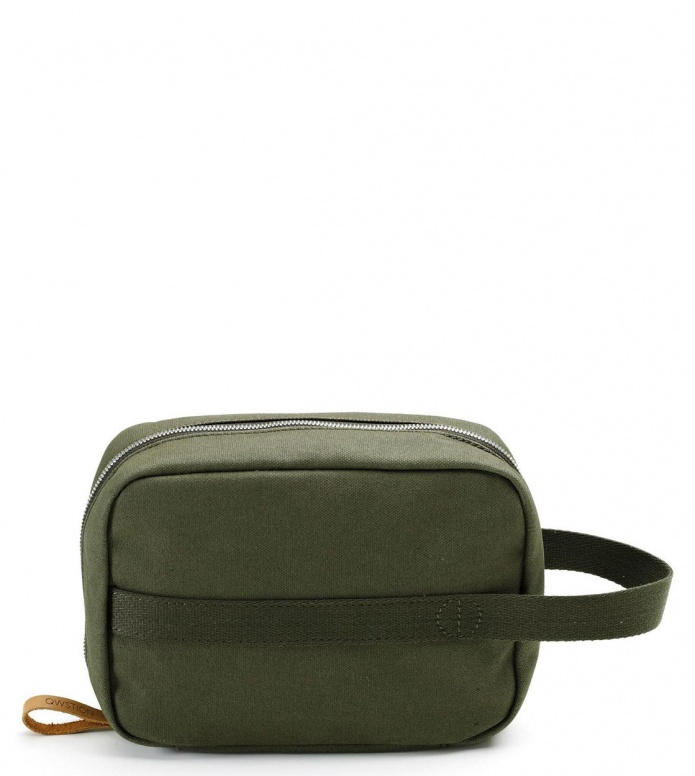Qwstion Qwstion Washbag Toiletry Kit organic forest green