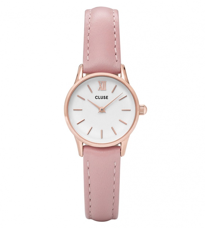 Cluse Cluse Watch La Vedette pink/white rosegold