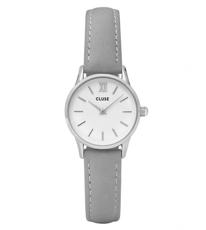 Cluse Cluse Watch La Vedette grey/white silver