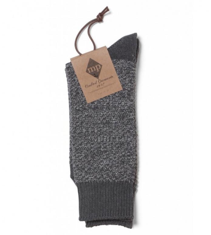 MP Crafted Garments Socks Hugo grey 43/45