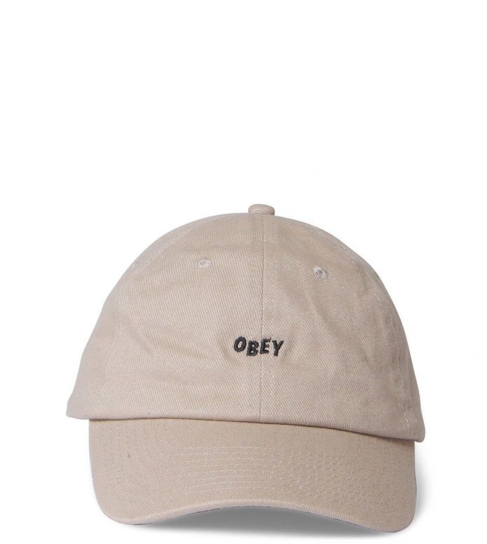 Obey 6 Panel Jumble beige khaki
