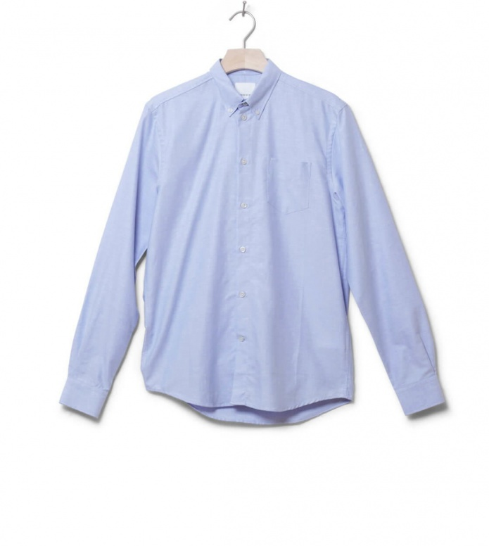 Wood Wood Shirt Timothy blue skyway S