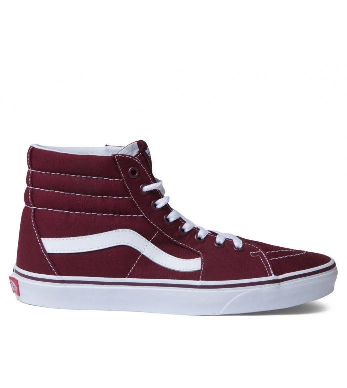 Vans Vans Shoes Sk8-Hi red port royale