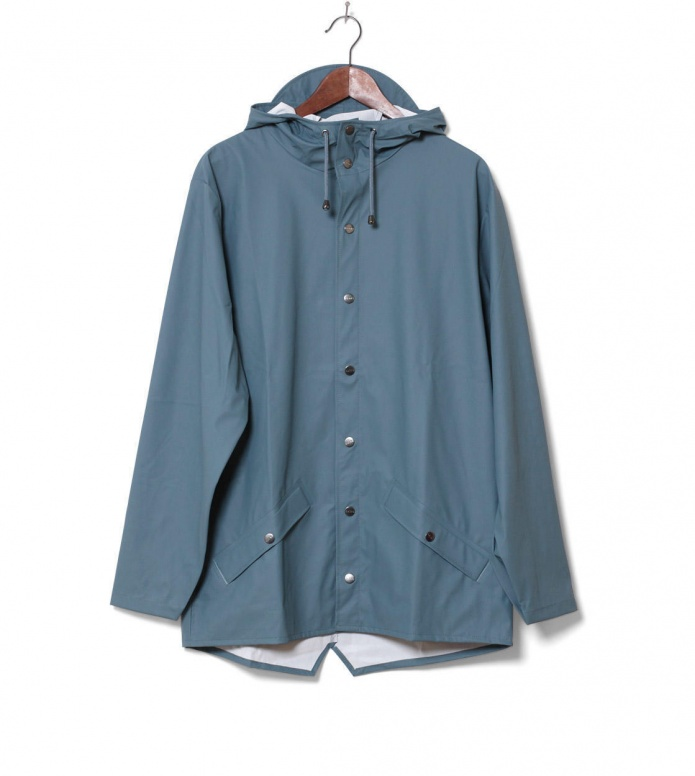 Rains Rains Rainjacket Short blue pacific