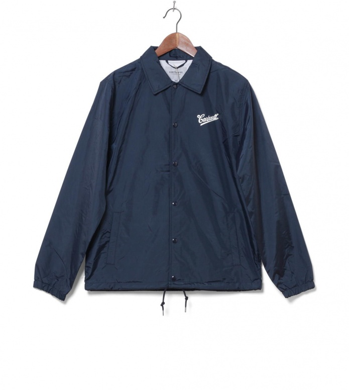 Carhartt WIP Jacket Strike Coach blue navy/white S