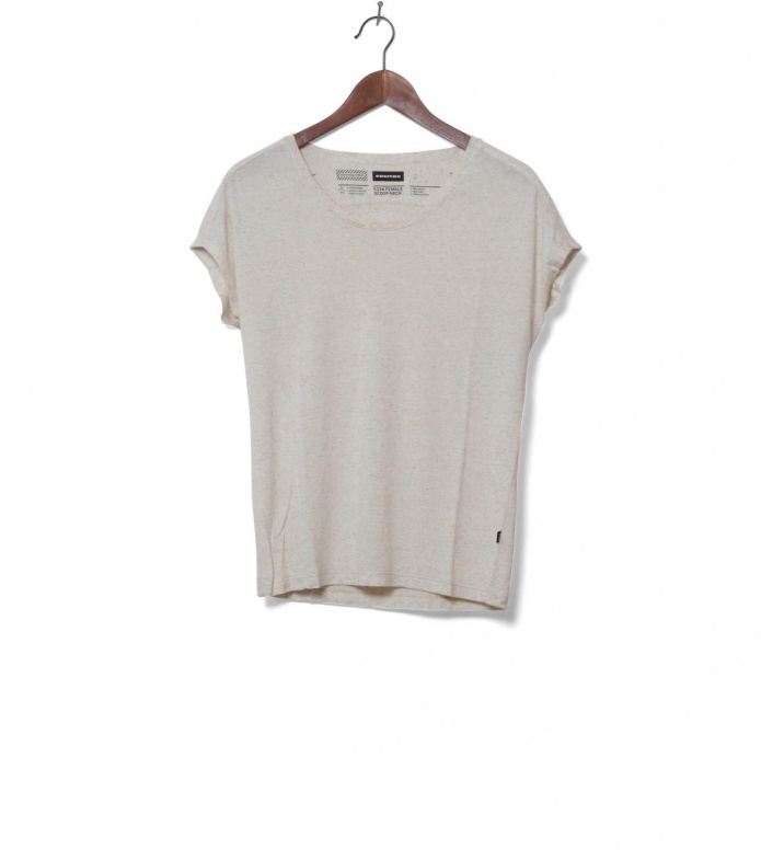 Freitag W T-Shirt Scoop Neck beige nature XS