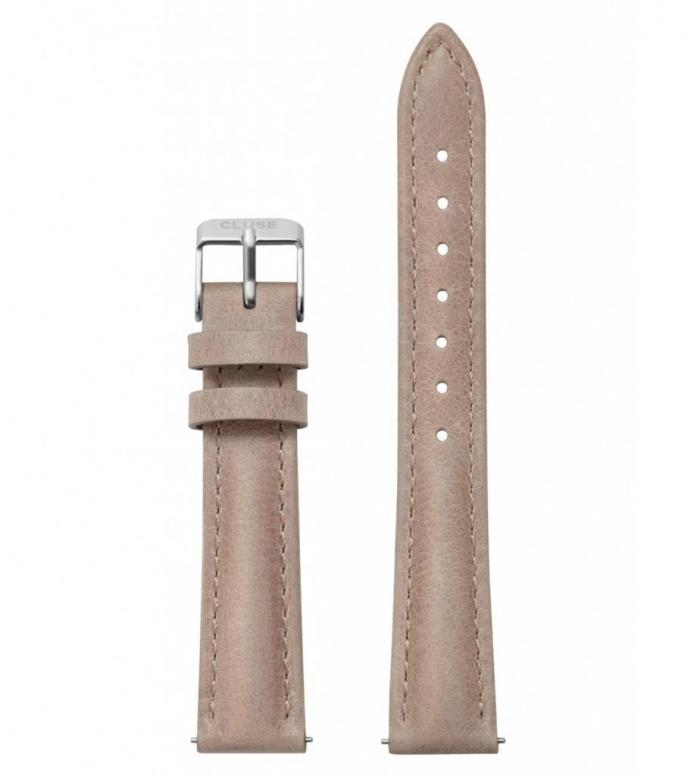 Cluse Cluse Strap Minuit brown hazelnut/silver
