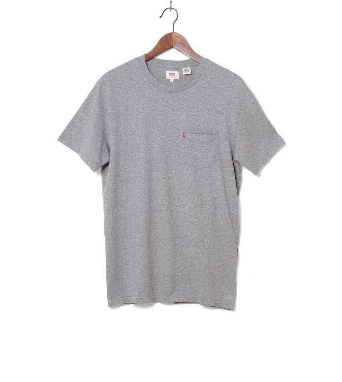 Levis Levis T-Shirt Sunset Pocket Medium grey heather