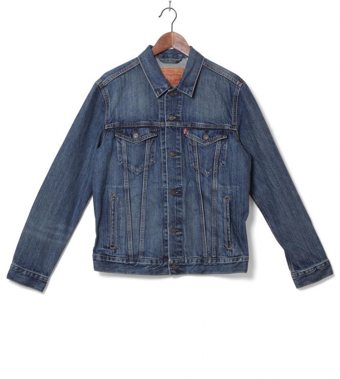 Levis Levis Denimjacket The Trucker blue the shelf